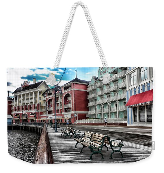 Boardwalk Early Morning Weekender Tote Bag