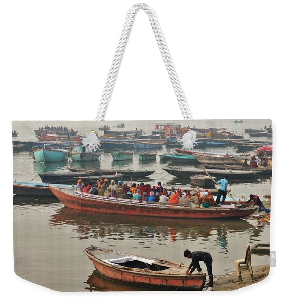 The Journey - Varanasi India Weekender Tote Bag
