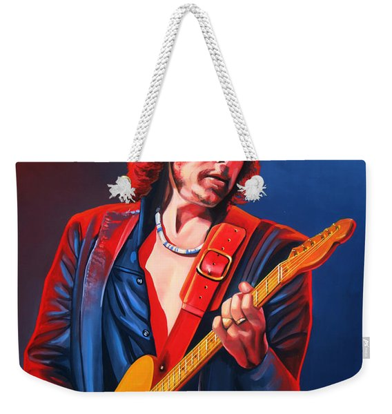 Bob Dylan Painting Weekender Tote Bag