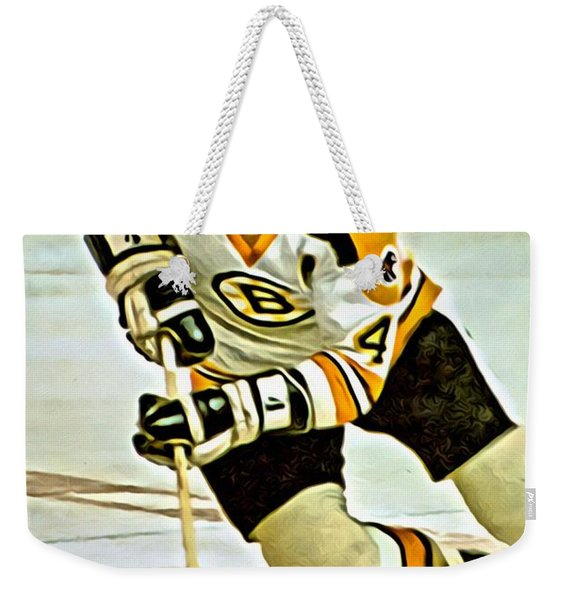 Bobby Orr Weekender Tote Bag