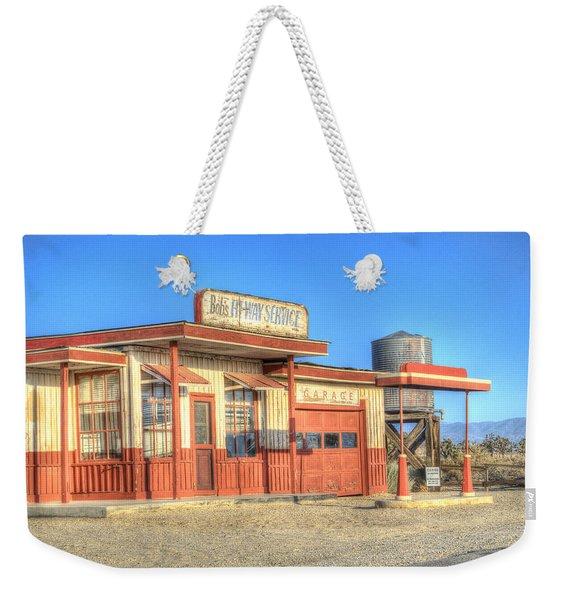 Bob's Service Garage Weekender Tote Bag