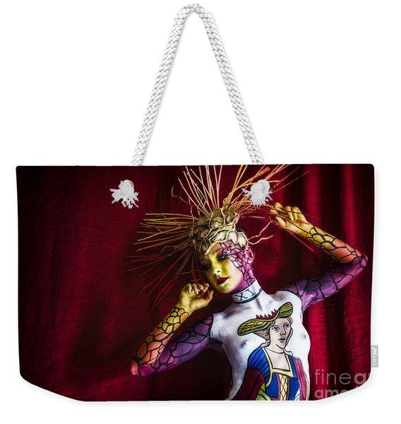 Bodypainting Weekender Tote Bag