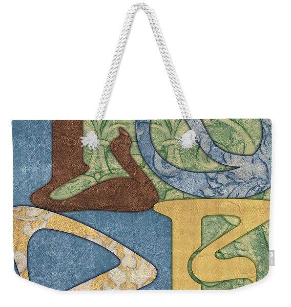 Bohemian Love Weekender Tote Bag