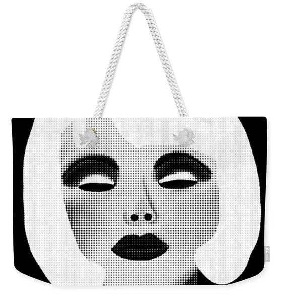 Bold Blonde Beauty Weekender Tote Bag