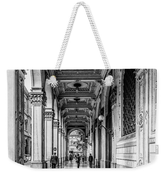 Bologna Weekender Tote Bag