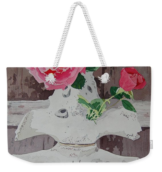 Bones And Roses Weekender Tote Bag