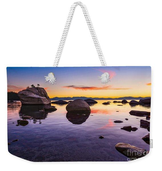 Bonsai Sunset Weekender Tote Bag