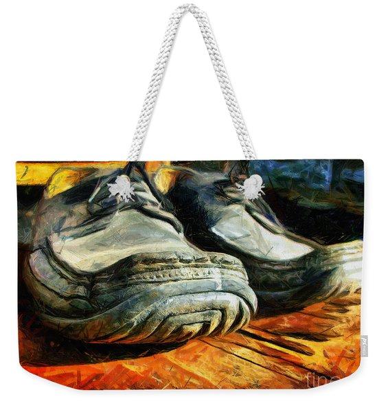 Boogie Shoes - Walking Story - Drawing Weekender Tote Bag