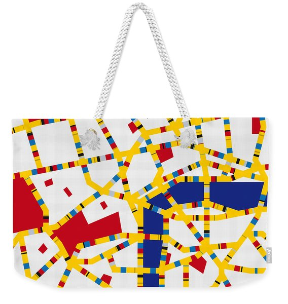 Boogie Woogie London Weekender Tote Bag