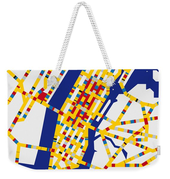 Boogie Woogie New York Weekender Tote Bag