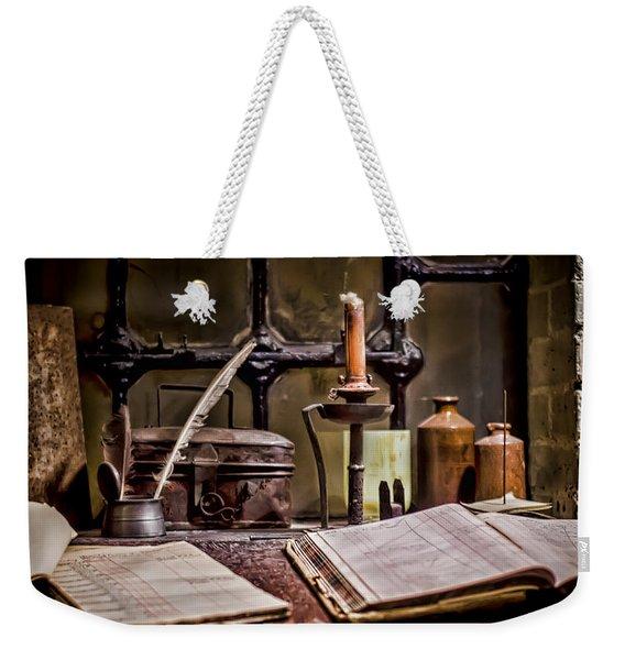 Book Keeper Weekender Tote Bag