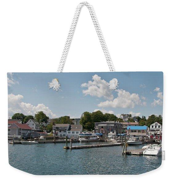 Boothbay Harbor 1242 Weekender Tote Bag