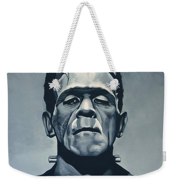 Boris Karloff As Frankenstein  Weekender Tote Bag