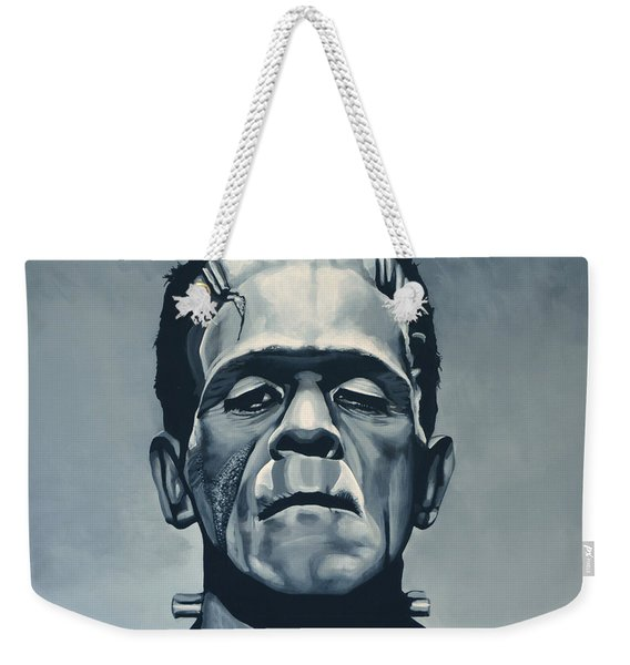 Boris Karloff As Frankenstein  Weekender Tote Bag