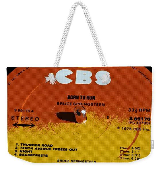 Born To Run Weekender Tote Bag