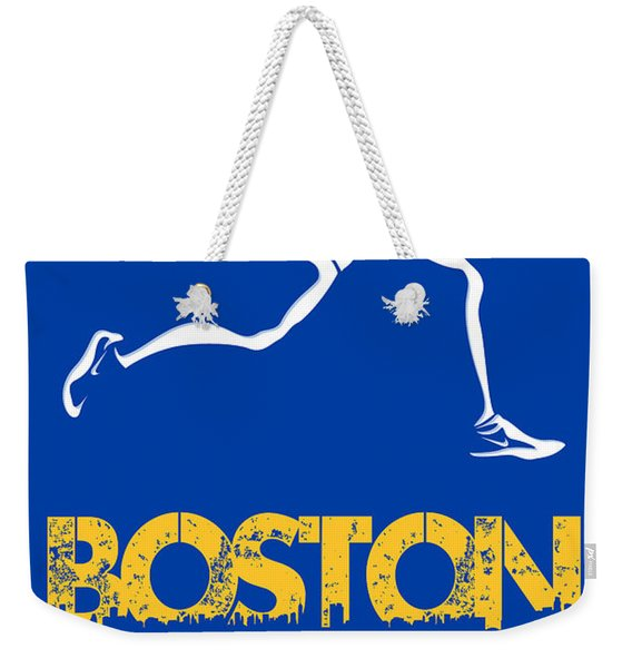 Boston Marathon2 Weekender Tote Bag