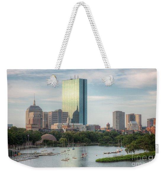 Boston Skyline I Weekender Tote Bag