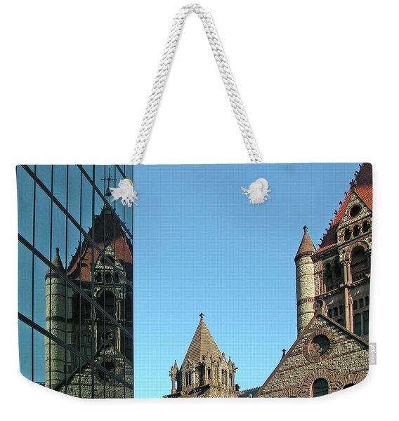 Boston Unity Reflected 2853 Weekender Tote Bag