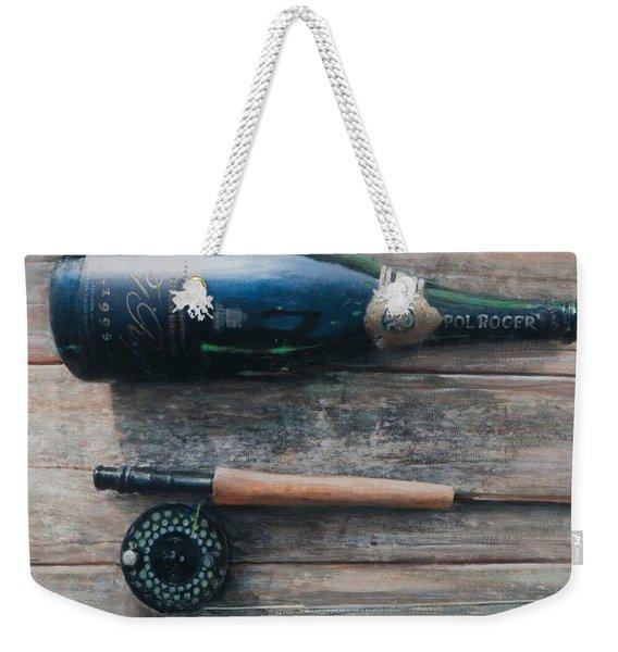 Bottle And Rod I Weekender Tote Bag