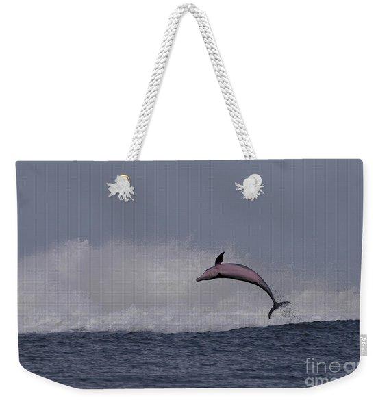 Bottlenose Dolphin Photo Weekender Tote Bag