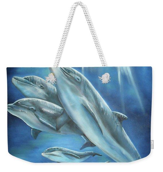 Bottlenose Dolphins Weekender Tote Bag