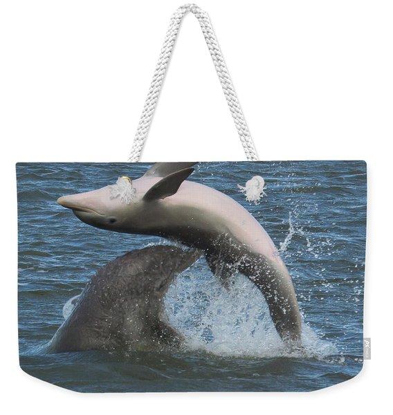 Bottom's Up Weekender Tote Bag