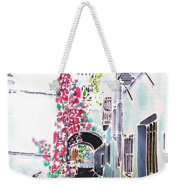 Bougainvillea Path  Weekender Tote Bag