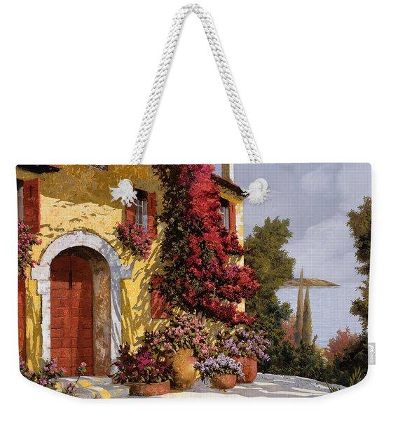 Bouganville Weekender Tote Bag