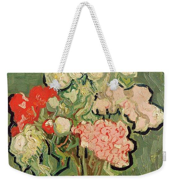 Bouquet Of Flowers Weekender Tote Bag