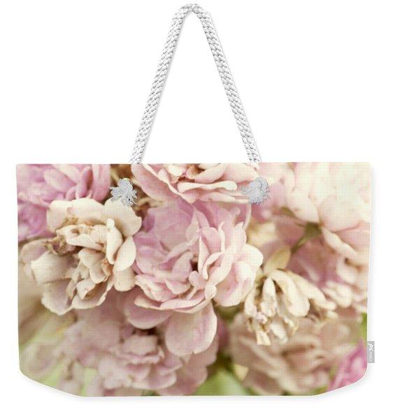 Bouquet Of Vintage Roses Weekender Tote Bag