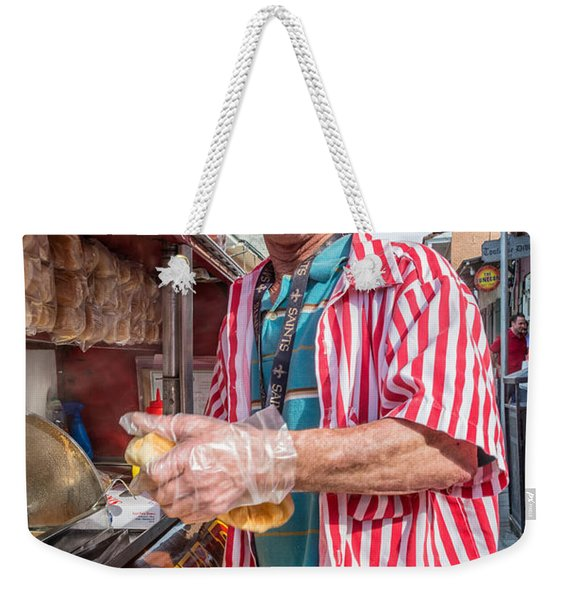 Bourbon Street - Lucky Dog And A Smile Weekender Tote Bag