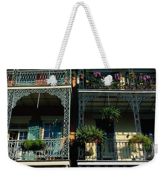 Bourbon Street New Orleans La Weekender Tote Bag