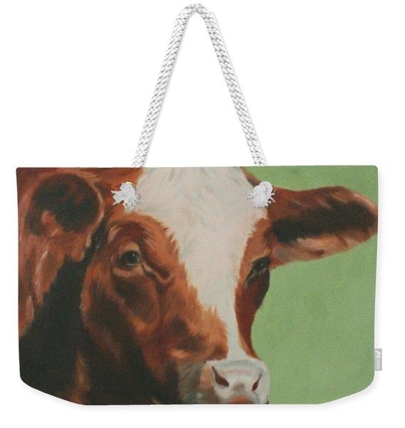 Bovine Beauty Weekender Tote Bag