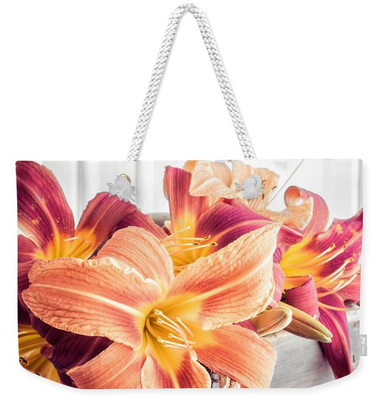 Box Of Day-lily  Weekender Tote Bag