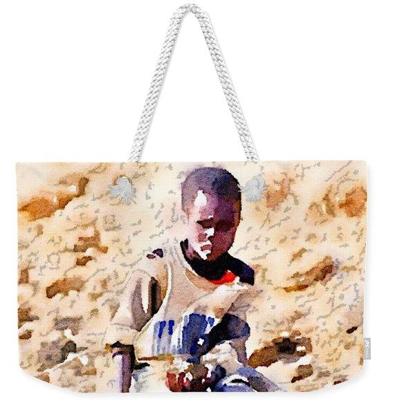 Boy In The Boat Weekender Tote Bag