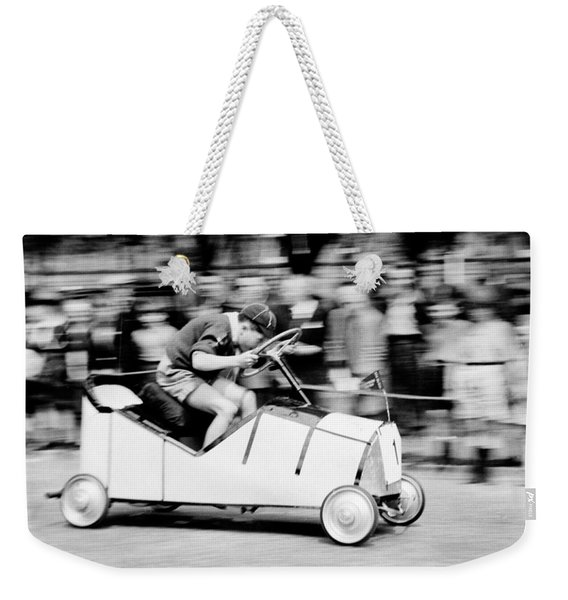 Boy Scouts Soap Box Derby, 1955 Weekender Tote Bag