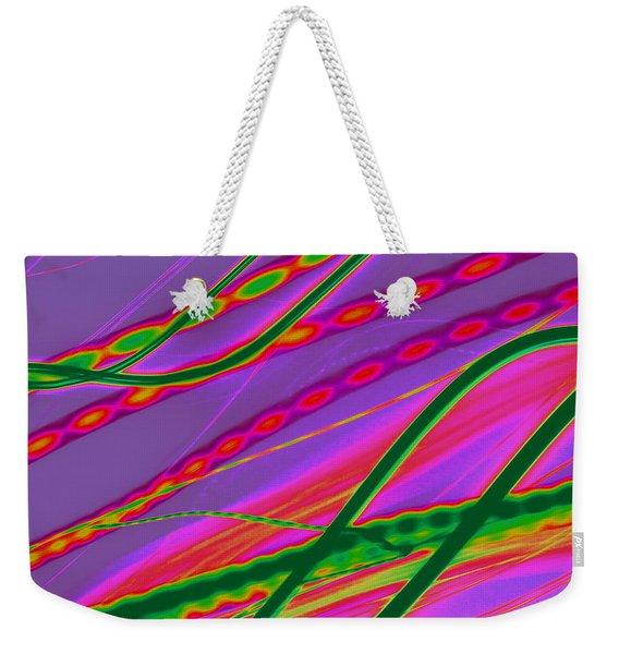 Braided Light Weekender Tote Bag