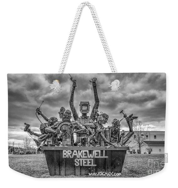 Brakewell Steel Weekender Tote Bag