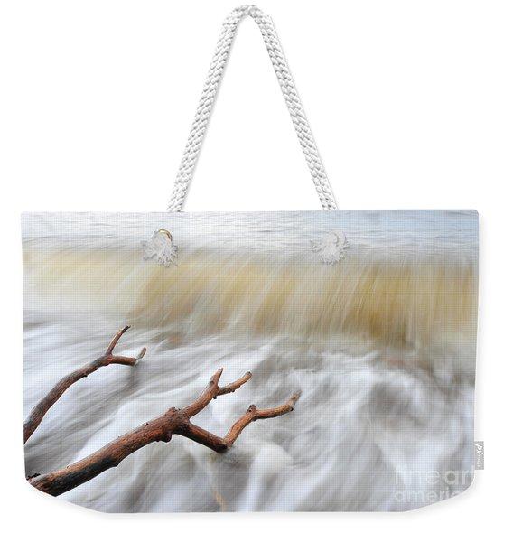 Branches In Water Weekender Tote Bag