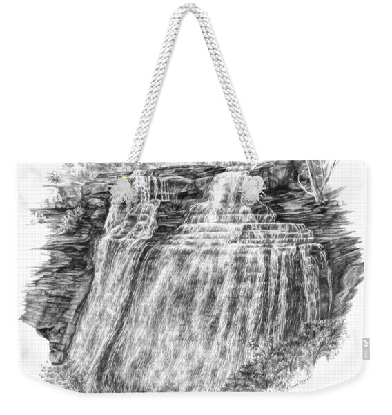 Brandywine Falls - Cuyahoga Valley National Park Weekender Tote Bag