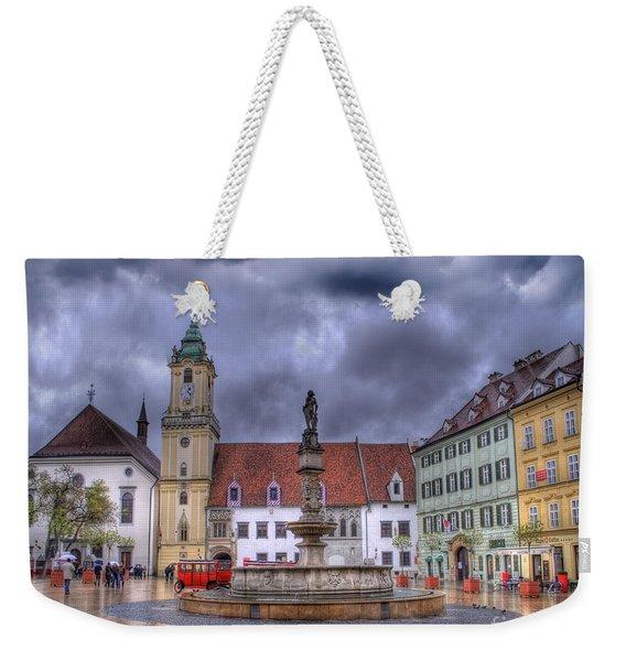 Bratislava Old Town Hall Weekender Tote Bag