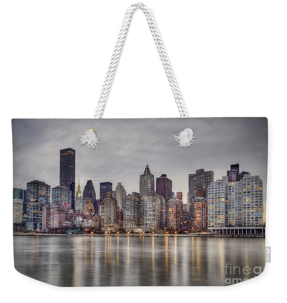 Break Into Darkness Weekender Tote Bag