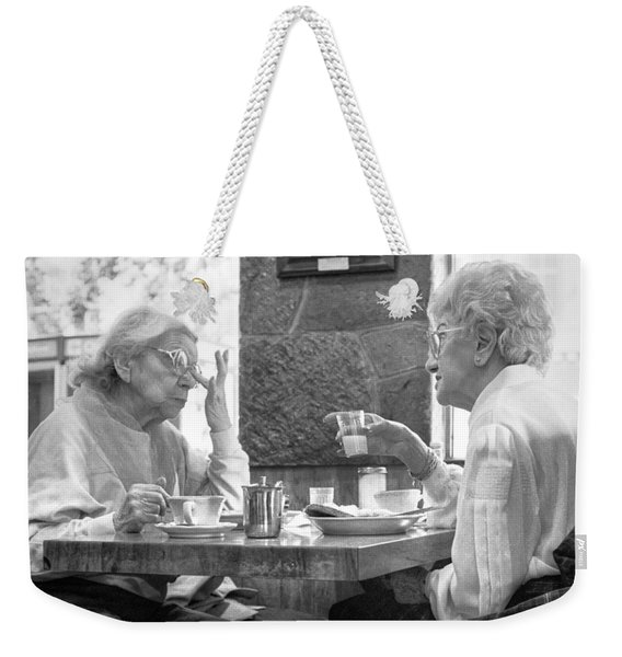 Breakfast Ladies Weekender Tote Bag