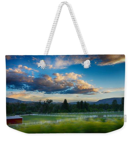 Breathtaking Colorado Sunset 1 Weekender Tote Bag