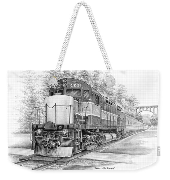 Brecksville Station - Cuyahoga Valley National Park Weekender Tote Bag