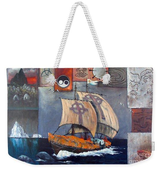 Brendan Voyage Weekender Tote Bag
