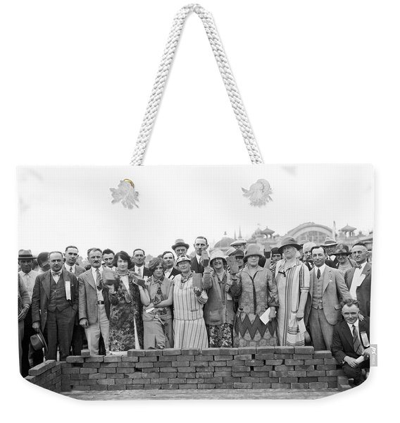 Brick Ceremony At Ppie Weekender Tote Bag