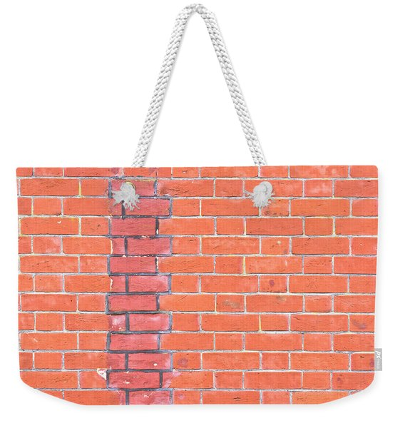 Brick Wall Repair Weekender Tote Bag