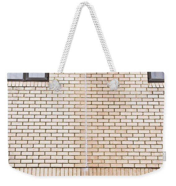Brick Wall Sealant Weekender Tote Bag