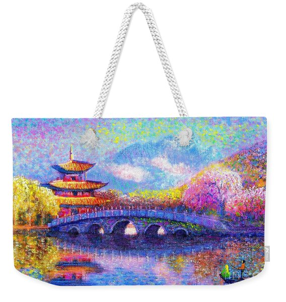 Bridge Of Dreams Weekender Tote Bag